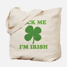 Lick Me Im Irish Tote Bag