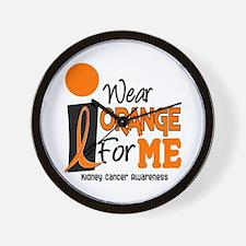 I Wear Orange For Me 9 KC Wall Clock