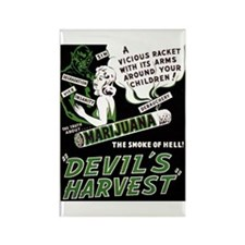 Devil's Harvest Rectangle Magnet