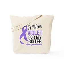 I Wear Violet For My Sister Tote Bag