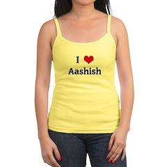 I Love Aashish Jr.Spaghetti Strap