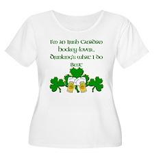 Irish Canadian Hockey Lover T-Shirt