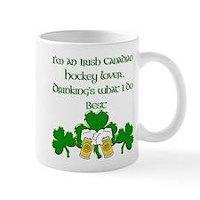 Irish Canadian Hockey Lover Mug