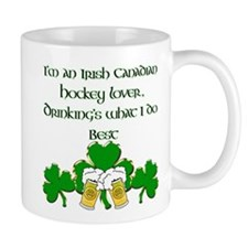 Irish Canadian Hockey Lover Mug