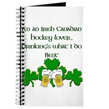 Irish Canadian Hockey Lover Journal