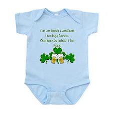 Irish Canadian Hockey Lover Infant Bodysuit