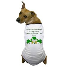 Irish Canadian Hockey Lover Dog T-Shirt