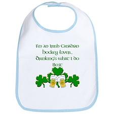 Irish Canadian Hockey Lover Bib