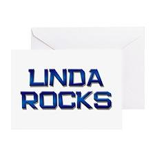 linda rocks Greeting Card