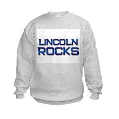 lincoln rocks Sweatshirt