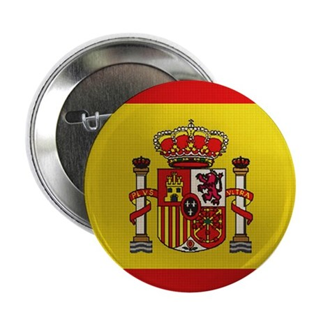 """Spanish Flag 2.25"""" Button (10 pack)"""