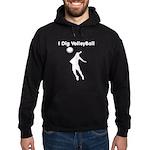 Volleyball Hoodie (dark)