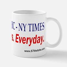 CNN - MSNBC - NY TIMES Small Small Mug