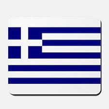 Greece Flag Mousepad