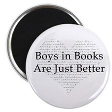 Boys in Books Magnet