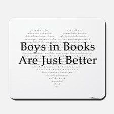 Boys in Books Mousepad