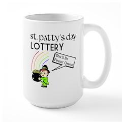 St. Patty's Day Lottery Large Mug