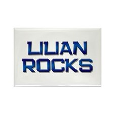 lilian rocks Rectangle Magnet