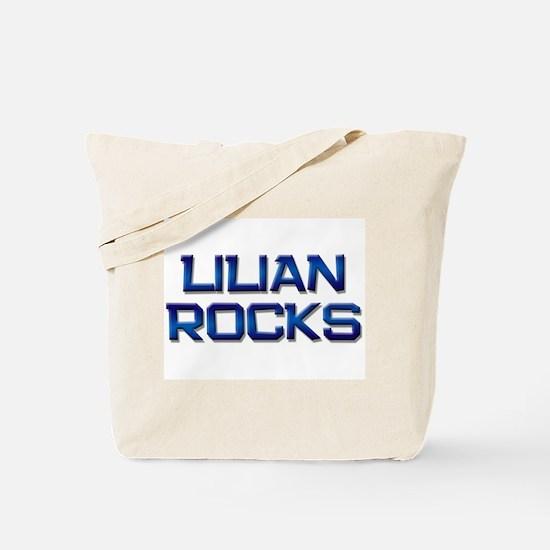 lilian rocks Tote Bag