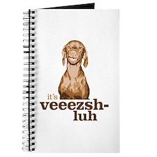 Say Vizsla Journal