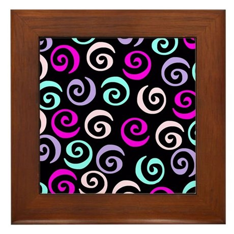 Swirl Framed Tile