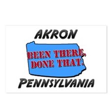 akron pennsylvania - been there, done that Postcar