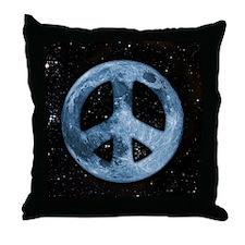 Moon Peace II Throw Pillow