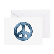 Moon Peace II Greeting Cards (Pk of 10)