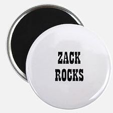 ZACK ROCKS Magnet
