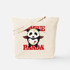 Zombie Panda Tote Bag