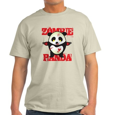 Zombie Panda Light T-Shirt