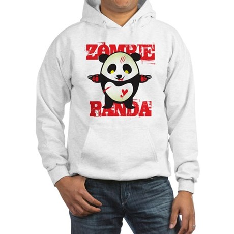 Zombie Panda Hooded Sweatshirt
