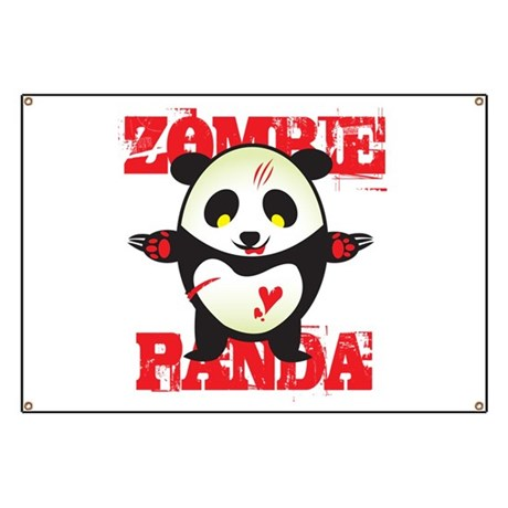 Zombie Panda Banner
