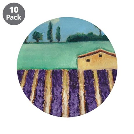 """FRENCH LAVENDER 3.5"""" Button (10 pack)"""