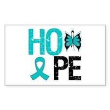 Hope PCOS Rectangle Decal