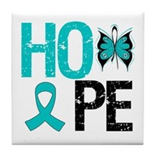 Hope PCOS Tile Coaster