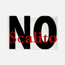 No Scalito Rectangle Magnet