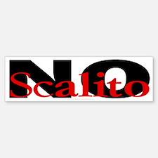 No Scalito Bumper Bumper Bumper Sticker