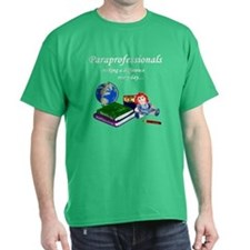 Paraprofessionals ... Kelly Green T-Shirt