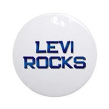 levi rocks Ornament (Round)
