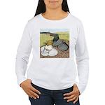 Trumpeter Pigeon Pair Women's Long Sleeve T-Shirt