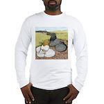 Trumpeter Pigeon Pair Long Sleeve T-Shirt