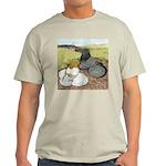 Trumpeter Pigeon Pair Light T-Shirt