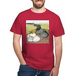 Trumpeter Pigeon Pair Dark T-Shirt