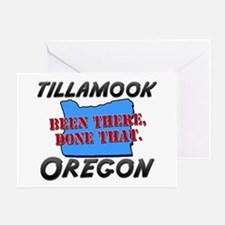 tillamook oregon - been there, done that Greeting