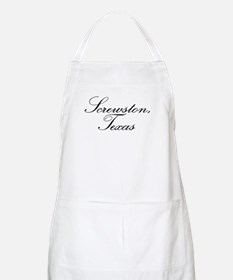 Screwston Texas BBQ Apron