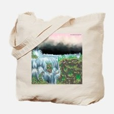 Ice Water River Blue Tote Bag