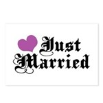 Just Married Postcards (Package of 8)