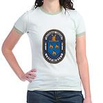 USS NATHANAEL GREENE Jr. Ringer T-Shirt