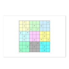 Sudoku Postcards (Package of 8)